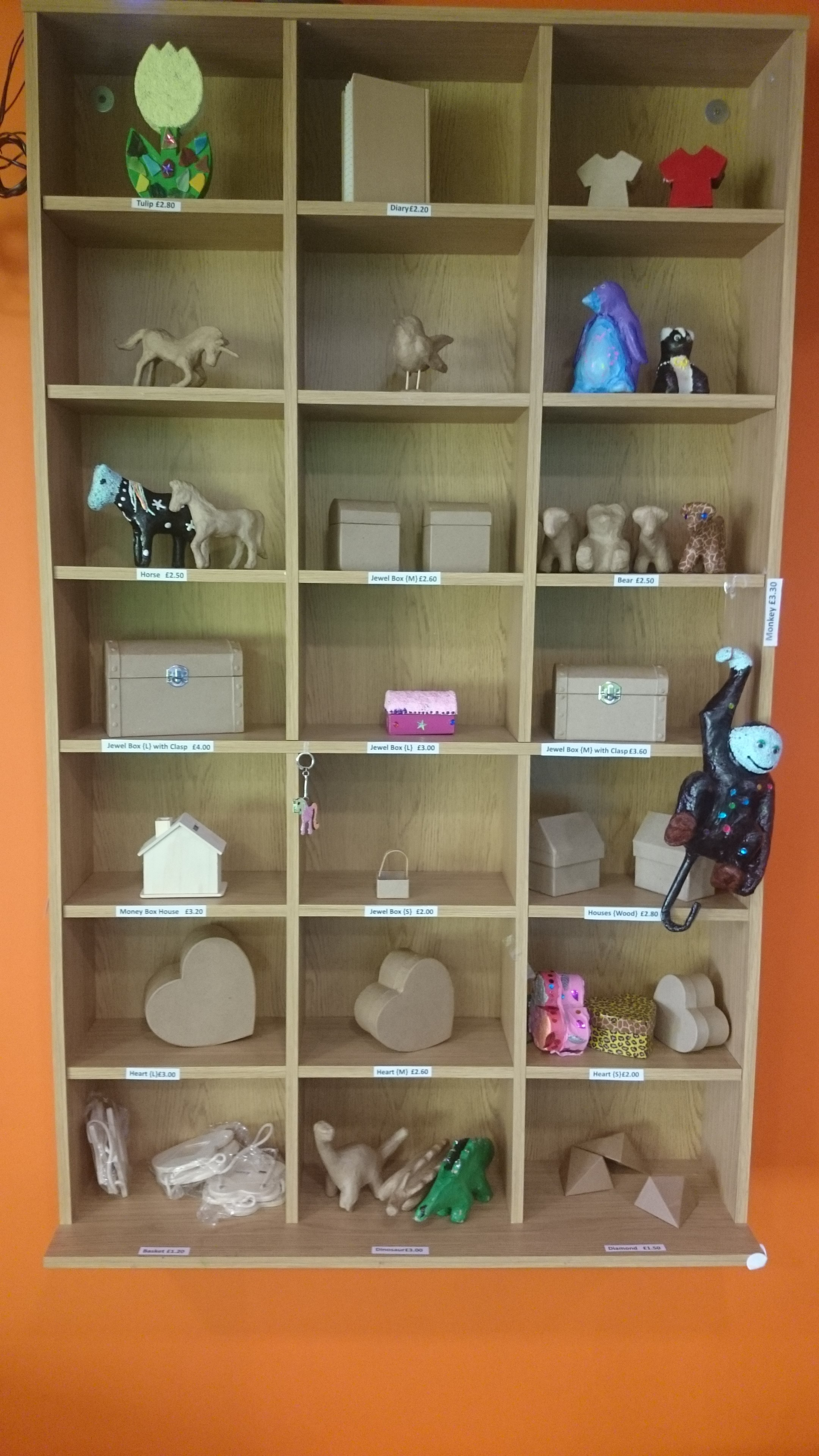 Childrens arts crafts studio go create art crafts messy in addition to the use of our craft drawers you can also opt to decorate one of our paper mache items these are perfect either as a present to yourself or solutioingenieria Gallery